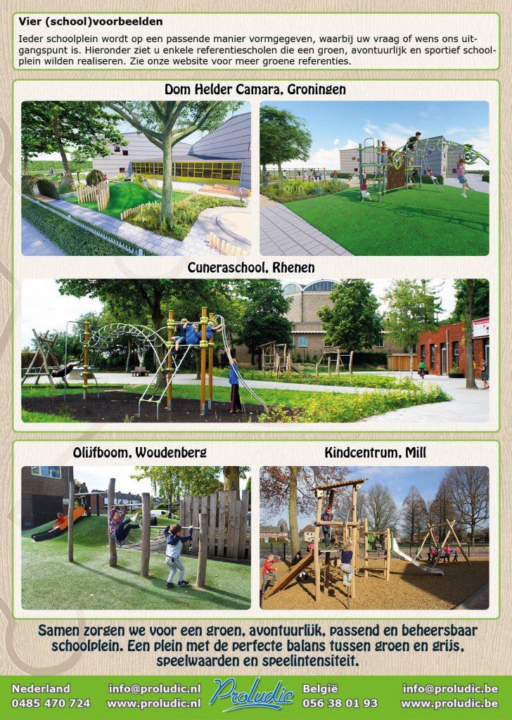 Wonderbaar Gezond spelen: het groene schoolplein   Proludic NL SA-56